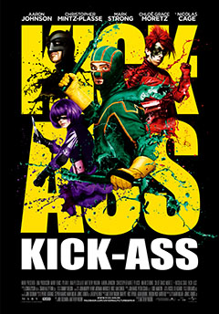 Cartel Kick-Ass. Listo para machacar