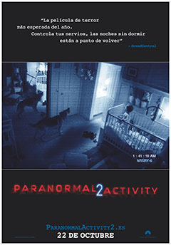 Cartel Paranormal Activity 2