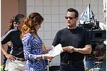 Foto rodaje Tom Hanks en Larry Crowne, nunca es tarde