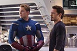 Foto Steve Rogers / Captain America y Tony Stark / Iron Man en Los vengadores de Steve Rogers / Captain America y Tony Stark / Iron Man