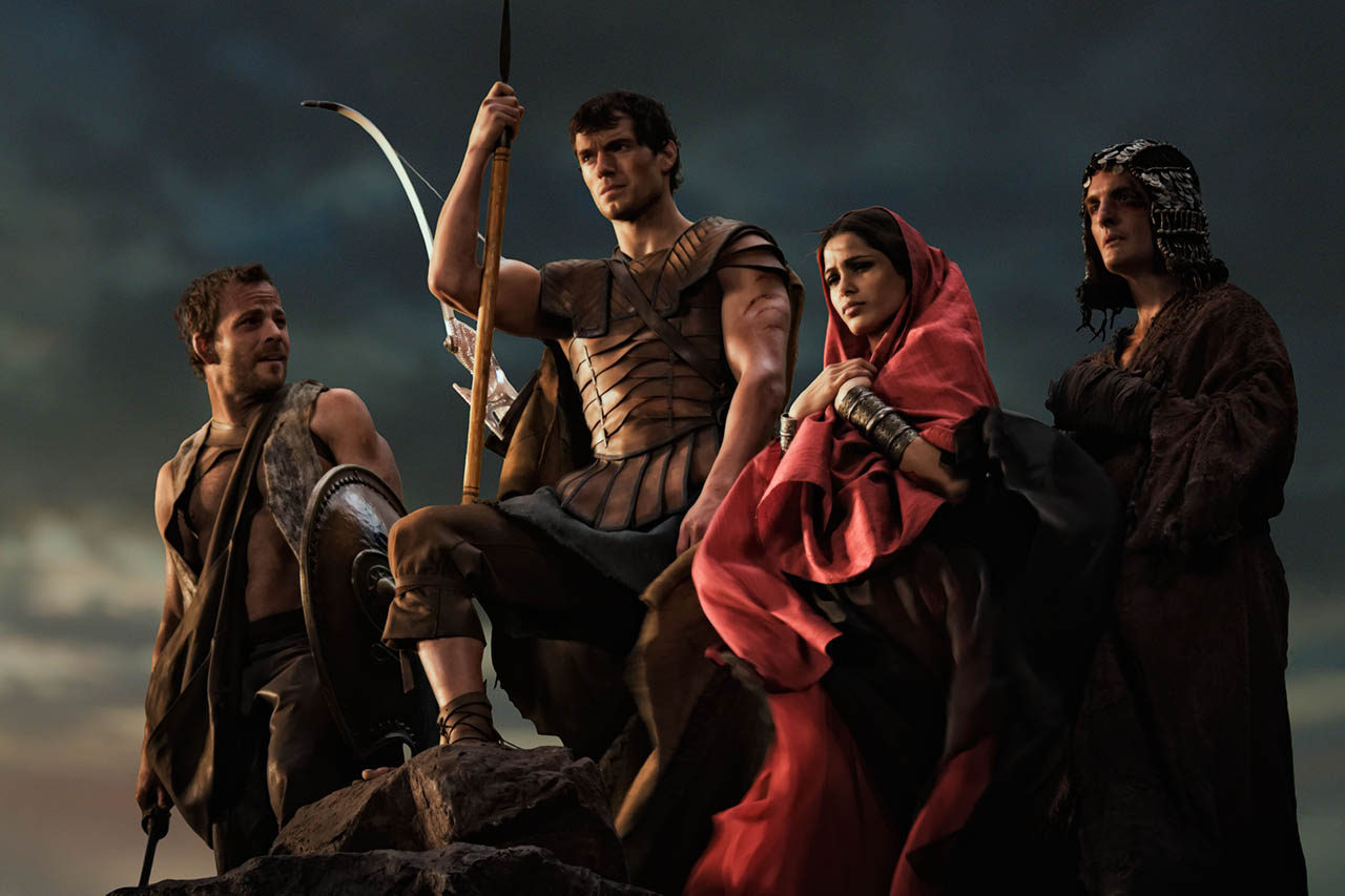 Foto estreno en Usa, IMMORTALS