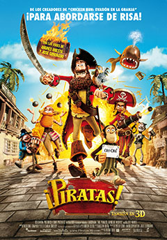 Cartel ¡Piratas!