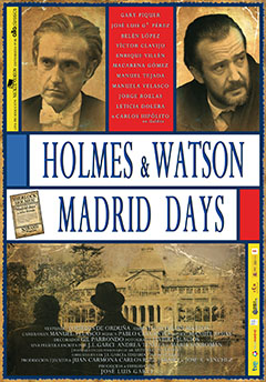 Cartel HOLMES &amp; WATSON. MADRID DAYS