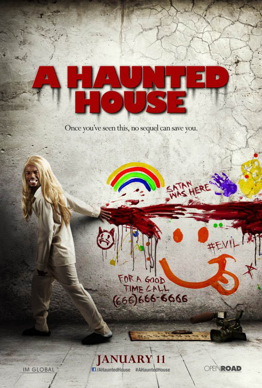 Cartel Promocional A Haunted House 3 Cinedor