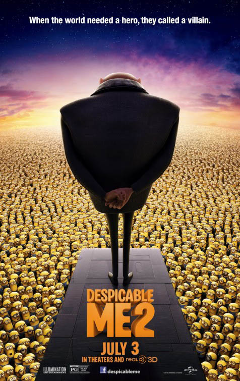 Cartel Gru 2, mi villano favorito 2