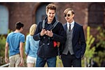 Foto Andrew Garfield y Dane DeHaan como Peter Parker / Spider-Man y Harry Osborn en The Amazing Spider-Man 2