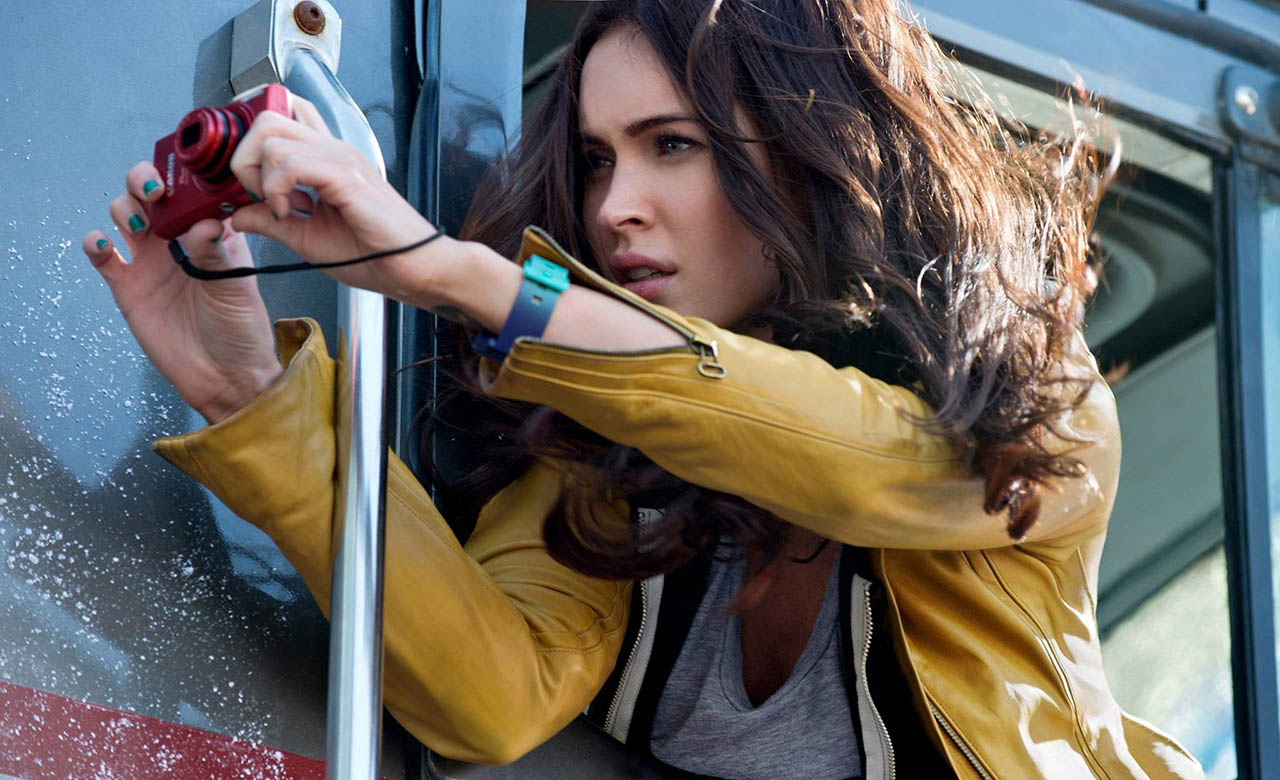 Foto Megan Fox en Tortugas Ninja de April O'Neil 2