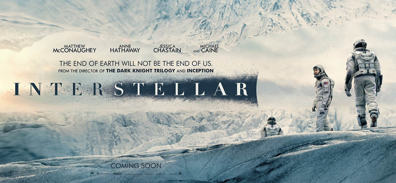 Cartel banner Interstellar
