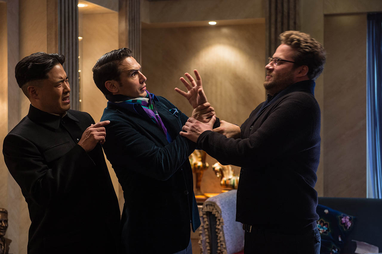 Foto James Franco y Seth Rogen en The Interview