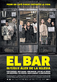 Cartel El bar