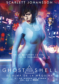 Cartel Ghost in the Shell - El alma de la máquina