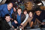 Foto reparto principal Untitled Han Solo Star Wars Anthology Film